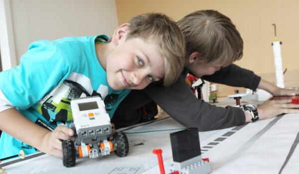 Bild aus dem Robotikkurs